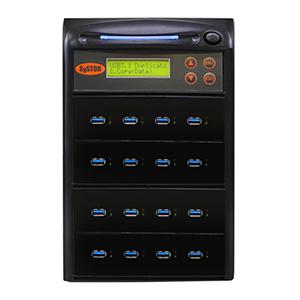 Systor 1:15 USB 3.1 300MB/s Flash-Laufwerk-Duplikator - (SYS15USB31) - bis zu 18 GB pro Minute
