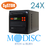 1 M-Disc Brenner 24X CD/DVD Kopierstation