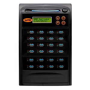 Systor 1:23 USB 3.1 100MB/s Flash-Laufwerk-Duplikator - (SYS23USB31100) - bis zu 6 GB pro Minute