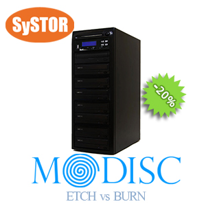 1 auf 7 MDisc Media Kopiersystem